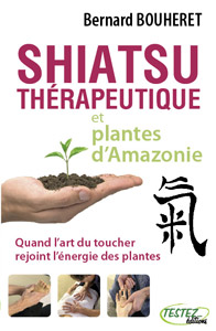 Couverture Shiatsu et plantes d'amazonie